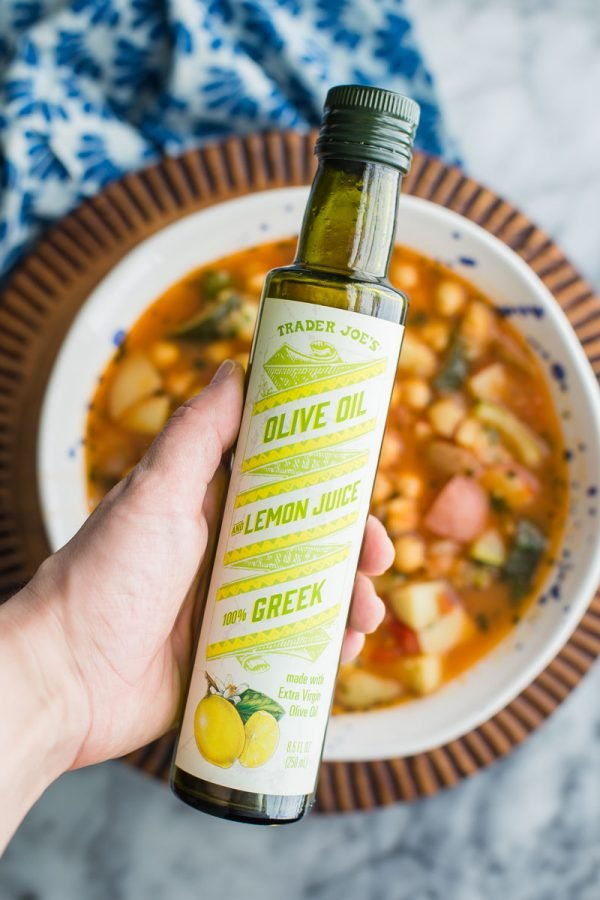 Trader Joes Olive Oil with Lemon Juice