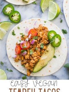 Tempeh Tacos |  Comida com sentimento 4