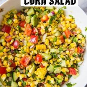 Salada de Milho Grelhado | Comida com sentimento 1