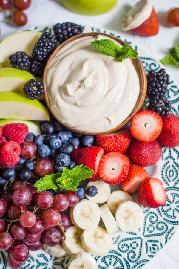Greek Yogurt Fruit Dip Food With Feeling