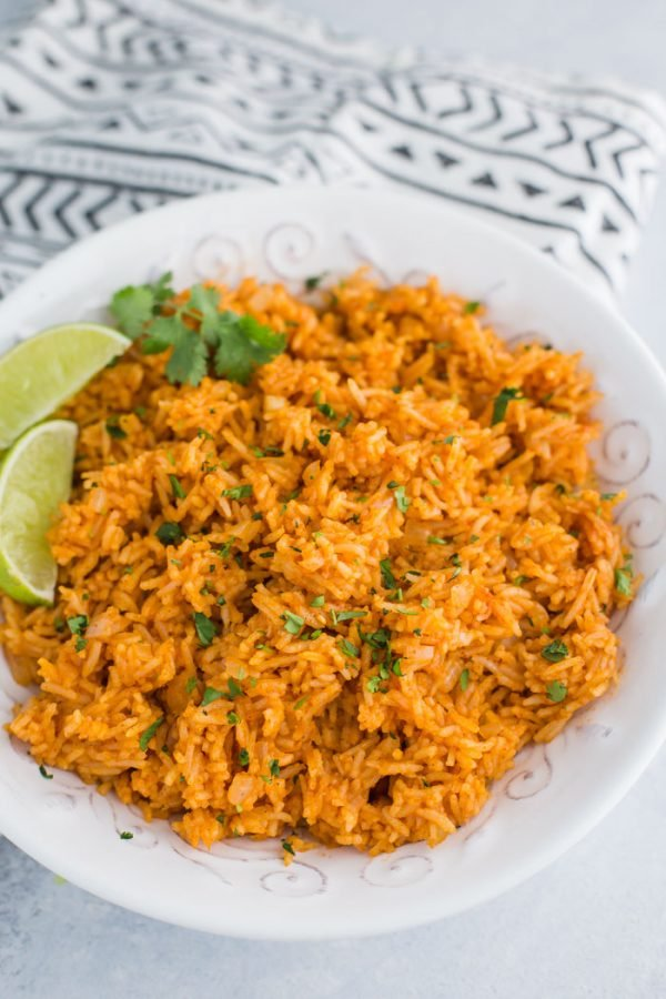 Instant Pot Mexican Rice- easy, vegan, and delicious!