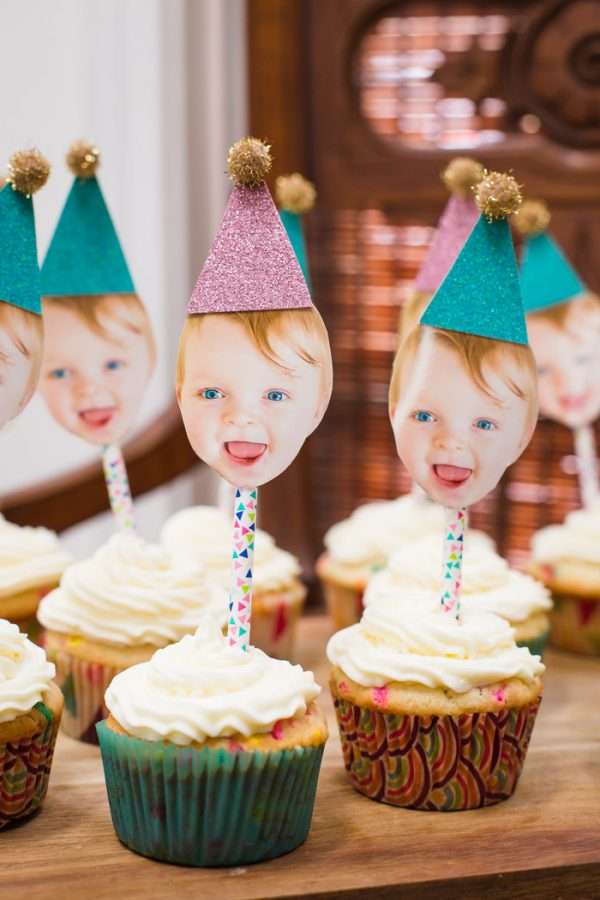 1st Birthday Cupcake Toppers!
