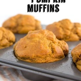 Vegan Pumpkin Muffins- an easy to make vegan breakfast thats perfect for fall baking and something that everyone will LOVE!!