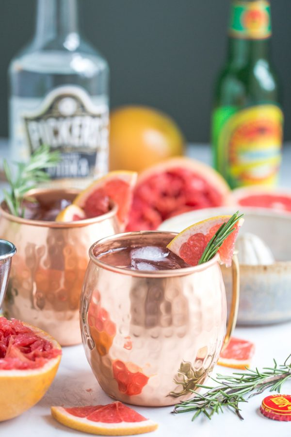 Grapefruit Moscow Mule