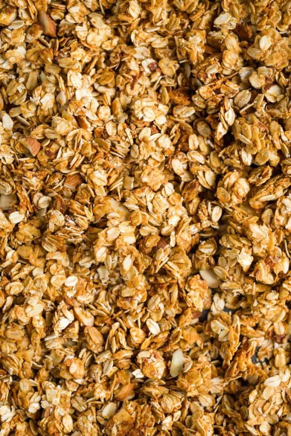 5 Ingredient Peanut Butter Granola
