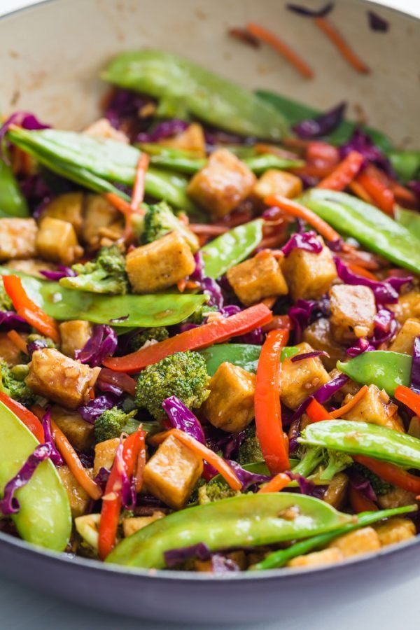 Tofu Stir Fry Food With Feeling