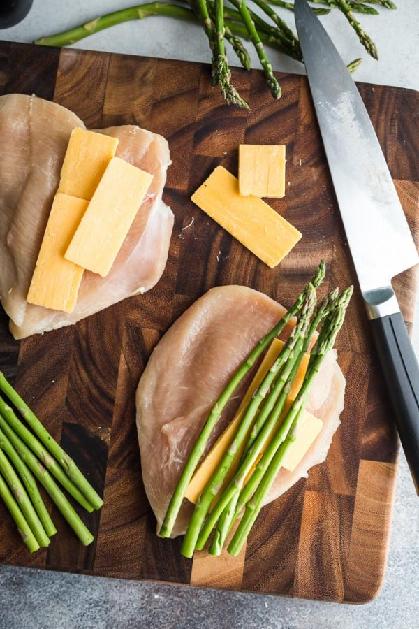 asparagus stuffed chicken breast recipe