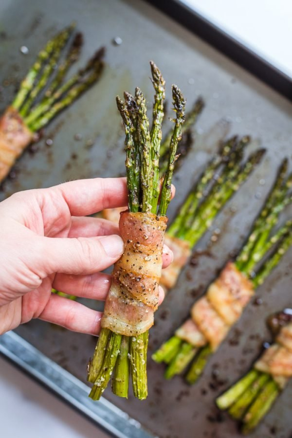 bacon wrapped asparagus oven