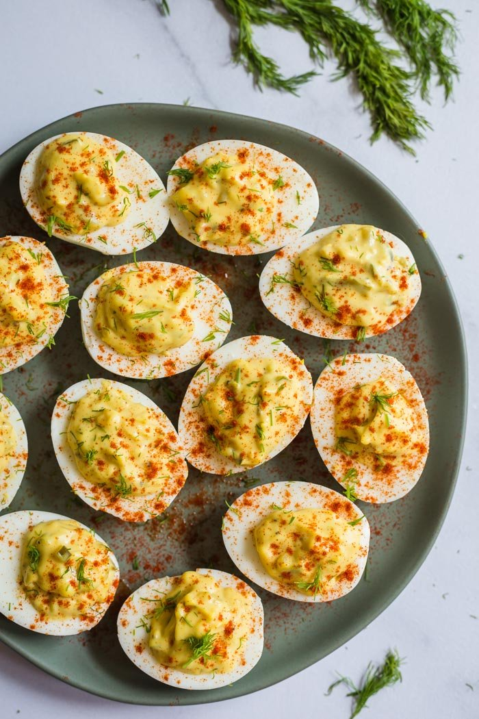 Southern Deviled Eggs Food With Feeling