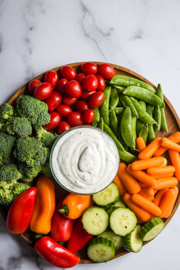 healthy homemade ranch dressing