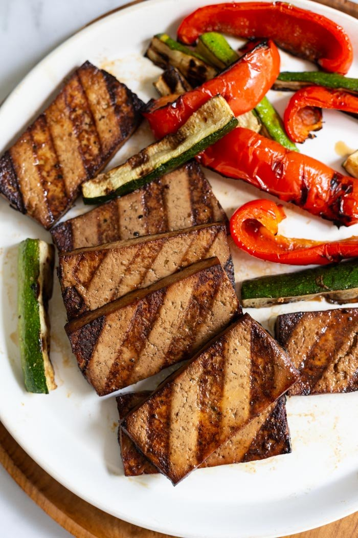Grilled Tofu Food With Feeling