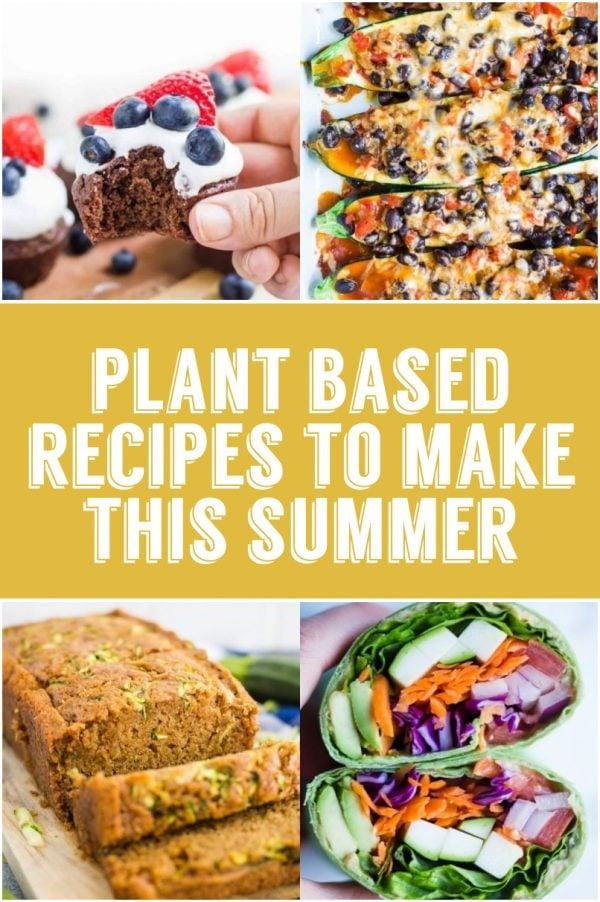 plant based summer recipes