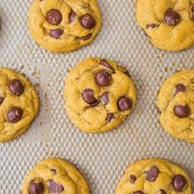 Chocolate Chip Pumpkin Cookies
