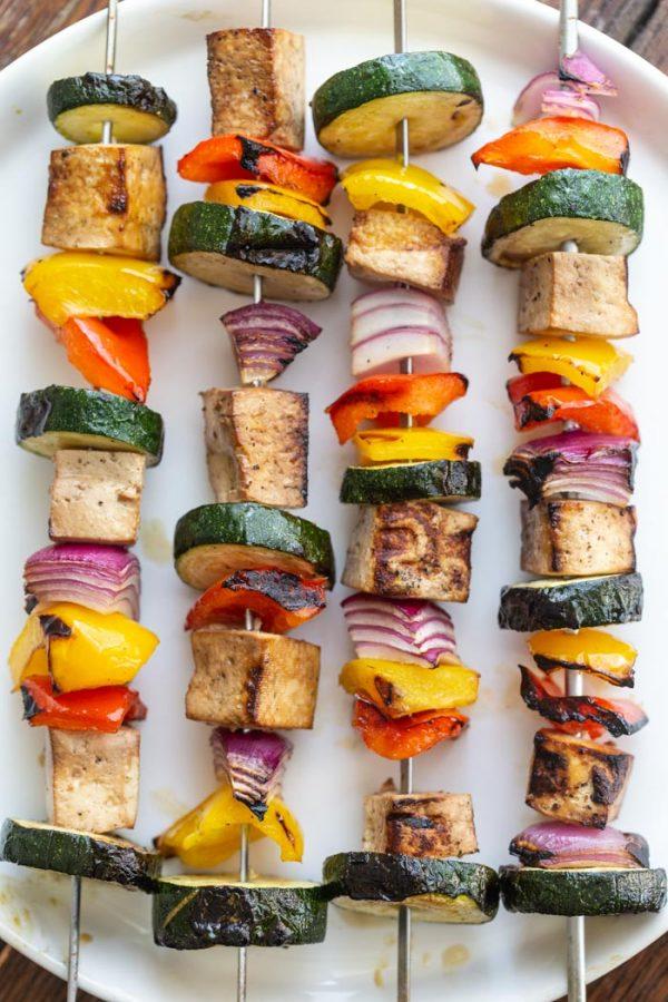 Easy Tofu Kebabs