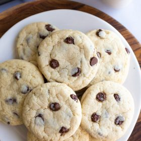 The BEST Vegan Chocolate Chip Cookies   Food with Feeling