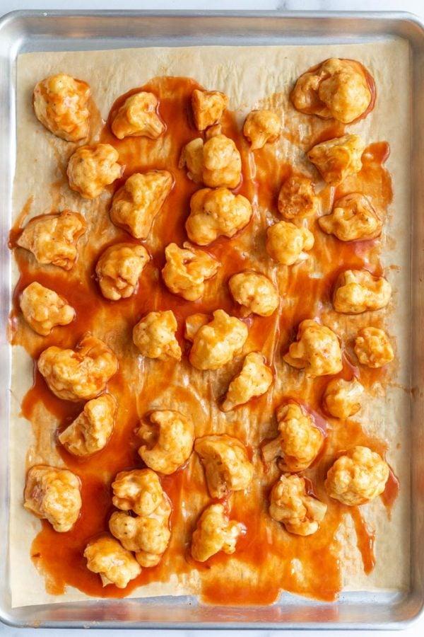 baked cauliflower wings