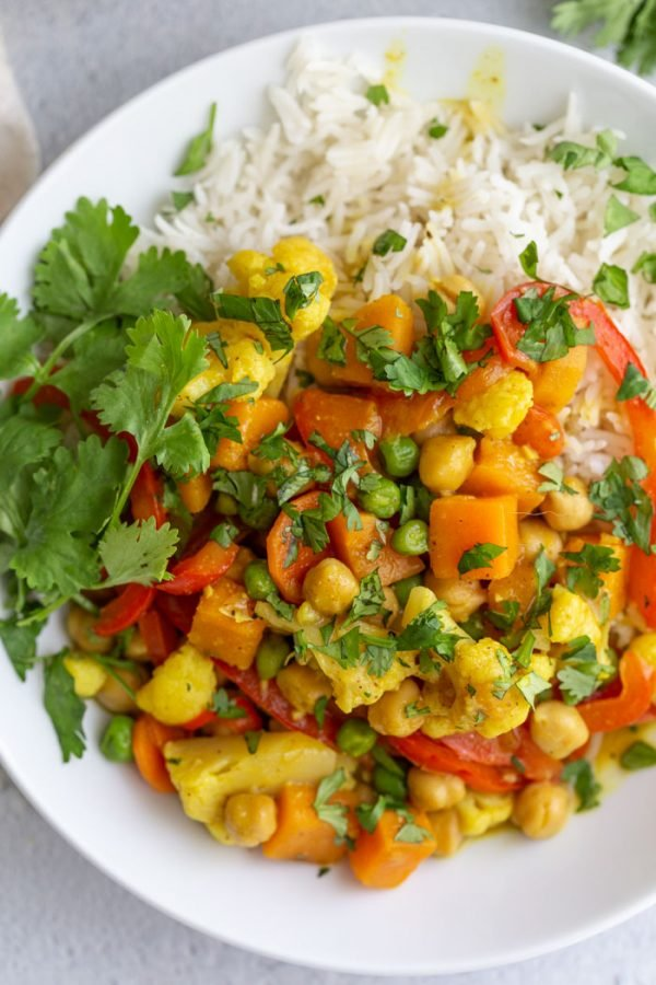 vegan coconut curry recipe