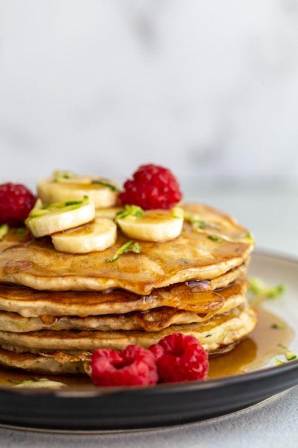 zucchini pancakes vegan