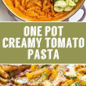 one pot vegan pasta