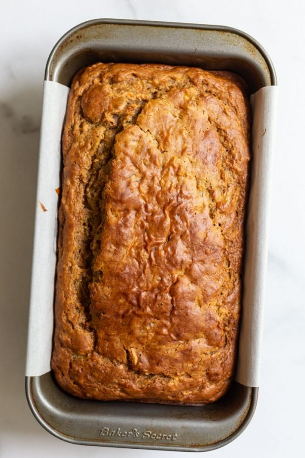 Vegan Carrot Loaf