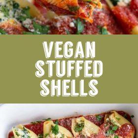vegan stuffed shells