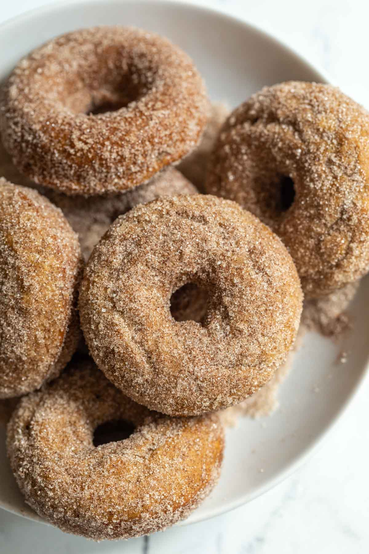 Baked Vegan Donuts   Food with Feeling
