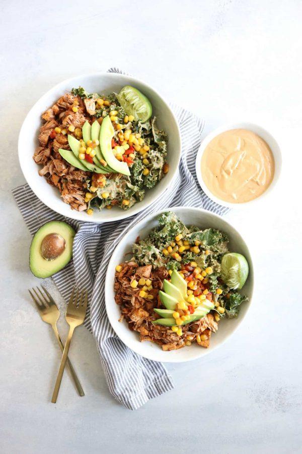 Jackfruit Burrito Bowls