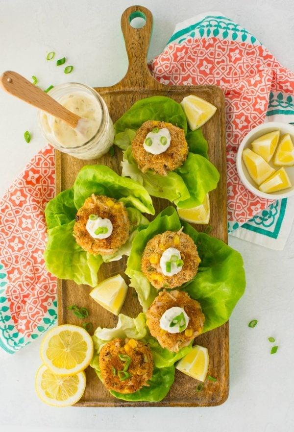 jackfruit crab cakes