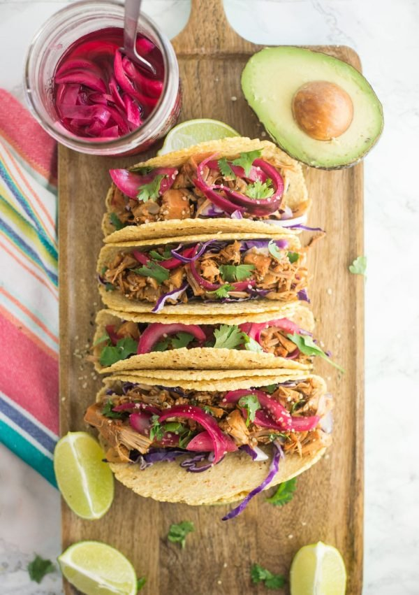 Jackfruit Pulled Pork Tacos