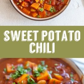 vegan sweet potato chili recipe