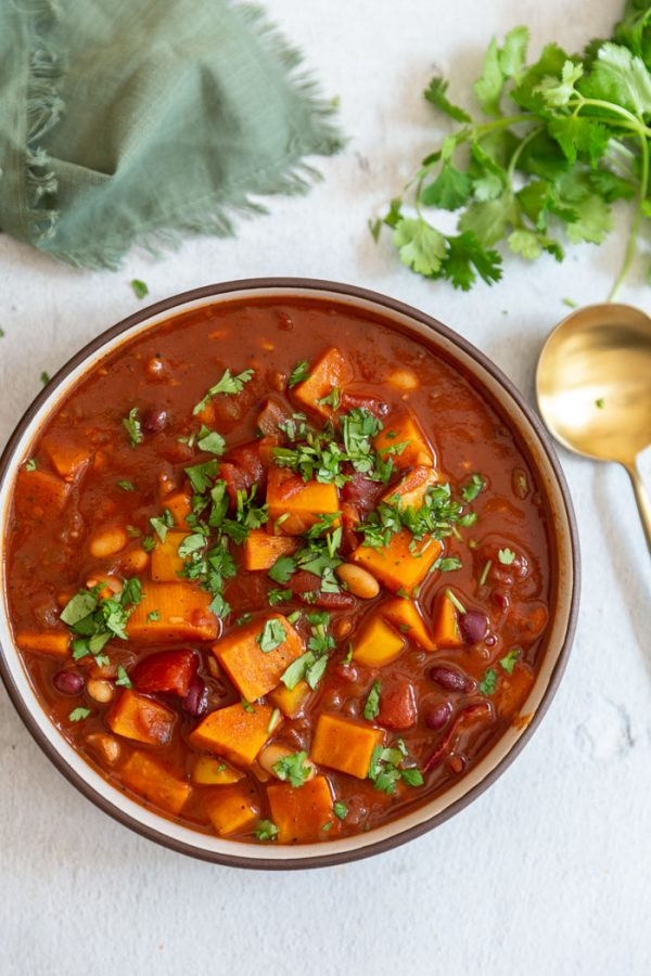 sweet potato chili vegan