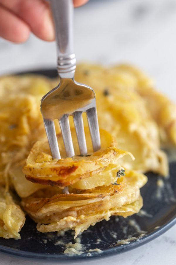 vegan scalloped potatoes