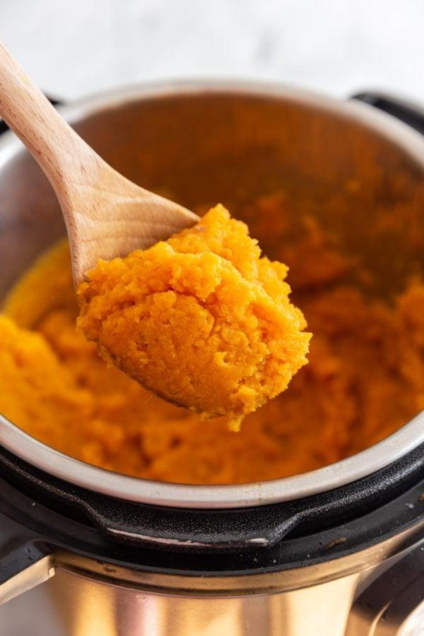 instant pot mashed sweet potatoes