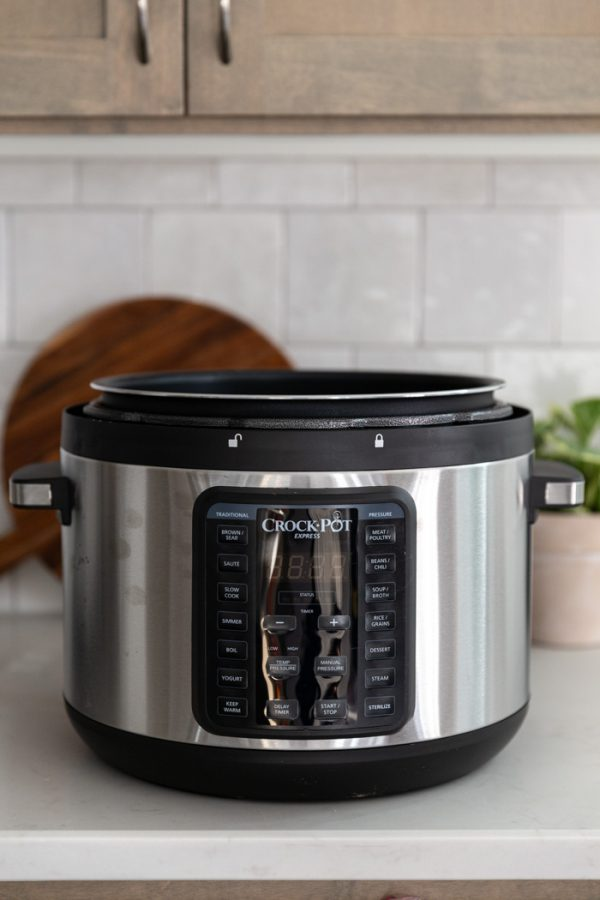 crockpot express on a counter