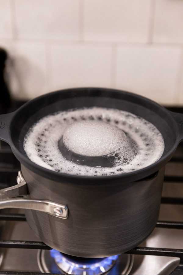 no boil over insert with water boiling over back into the pot