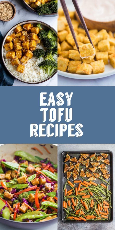 Receitas fáceis de tofu |  Comida com sentimento 2