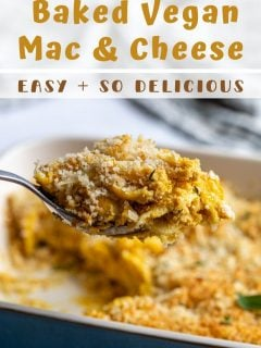 Baked Vegan Mac And Cheese Food With Feeling