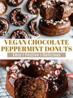 Donuts de chocolate com hortelã-pimenta | Comida com sentimento 2