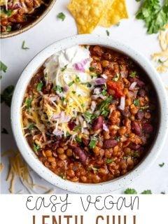 Lentil Chili | Comida com sentimento 2