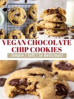 Os MELHORES biscoitos de chocolate veganos 2
