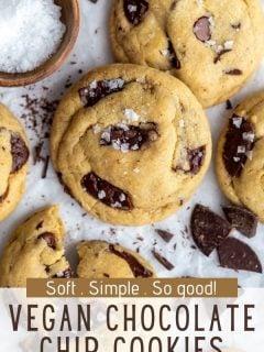 Os MELHORES biscoitos de chocolate veganos 3