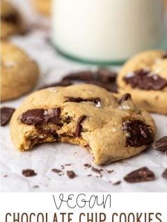 Os MELHORES biscoitos de chocolate veganos 4