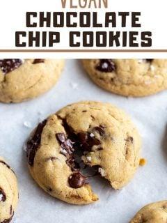 Os MELHORES biscoitos de chocolate veganos 5