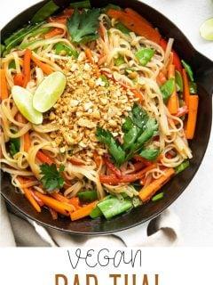 Vegan Pad Thai   Comida com sentimento 2