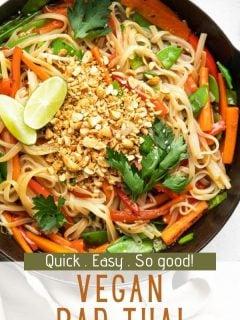 Vegan Pad Thai   Comida com sentimento 3