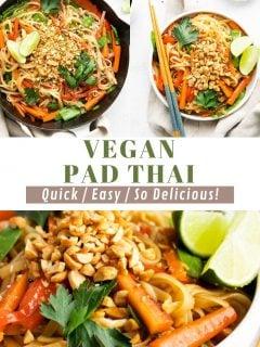 Vegan Pad Thai   Comida com sentimento 4
