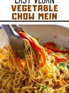 Vegetable Chow Mein   Comida com sentimento 4