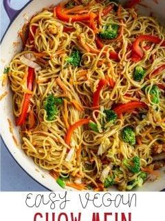 Vegetable Chow Mein | Comida com sentimento 5