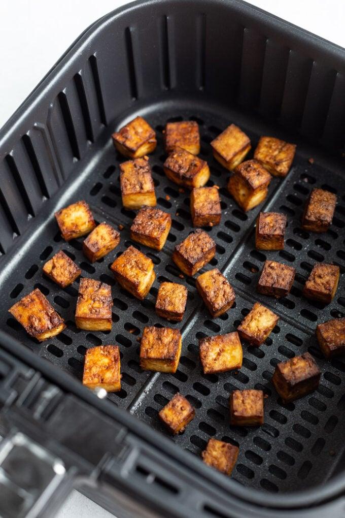 marinate tofu in an air fryer